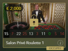 salon prive croupier